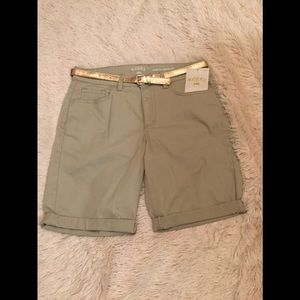 Riders by Lee Midrise Bermuda shorts